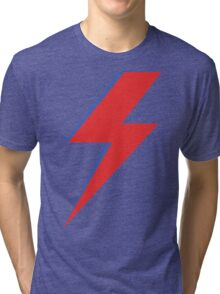 Aladdin Sane - Lightning bolt Tri-blend T-Shirt