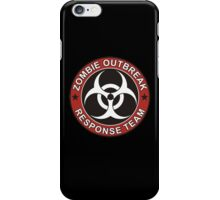 Zombie Outbreak Response Team iPhone Case/Skin