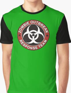 Zombie Outbreak Response Team Graphic T-Shirt