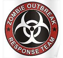 Zombie Outbreak Response Team Poster