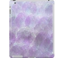 blue and purple bubble ombré pattern iPad Case/Skin