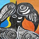 Two Toucans by Ethna Gillespie