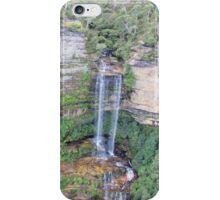 Blue Mountains Waterfall - NSW, Australia iPhone Case/Skin