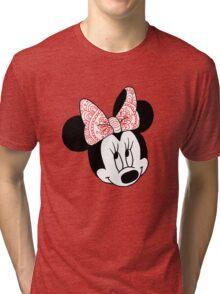 Mandala Minnie Mouse Tri-blend T-Shirt