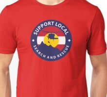 Support Local Search and Rescue Unisex T-Shirt