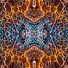 Volcanic Eruption Abstract Symmetry by Scott  Cook©