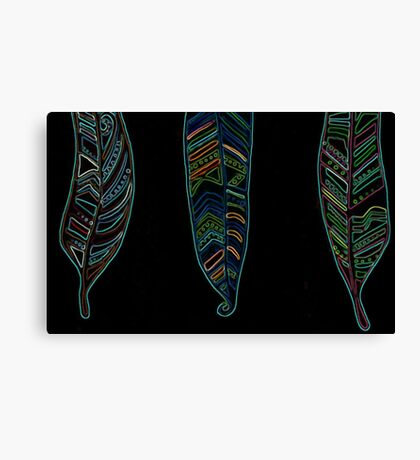 feather#art Canvas Print