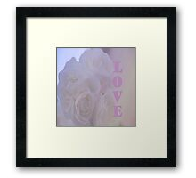 Soft and Tender as a Kiss Framed Print
