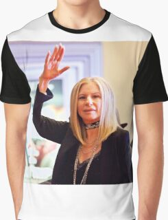 Barbra Streisand & Marty Erlichman Celebrate 50 Years Together Graphic T-Shirt