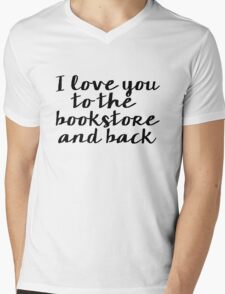 I Love You to the Bookstore and Back - V.2 Mens V-Neck T-Shirt