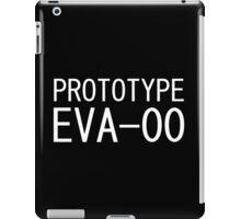 Prototype EVA-00 Evangelion ヾ(0∀0*★)゚*・.。 iPad Case/Skin