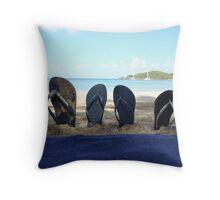 British Virgin Islands  Throw Pillow