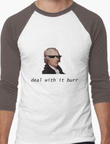 Deal With It, Burr Men's Baseball ¾ T-Shirt