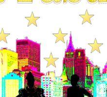 50 AND FABULOUS NYC BIRTHDAY DESIGN Sticker