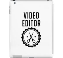 Video Editor iPad Case/Skin