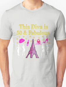 FABULOUS 50TH PARIS DESIGN Unisex T-Shirt