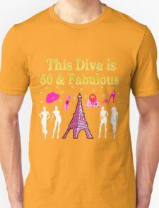 FABULOUS 50TH PARIS DESIGN T-Shirt