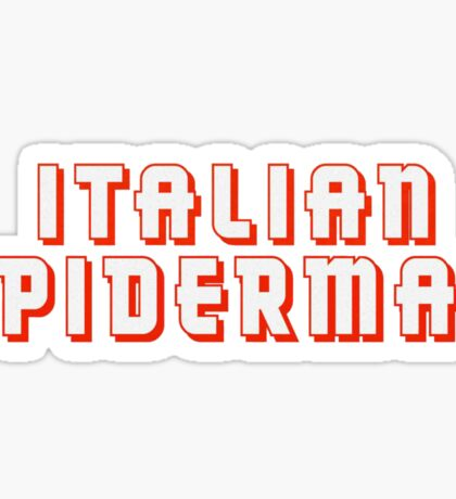 Italian Spiderman - ONE:Print Sticker