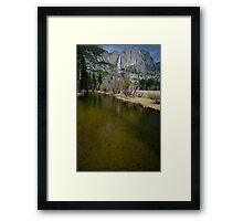 Yosemite Valley at the Merced River Framed Print