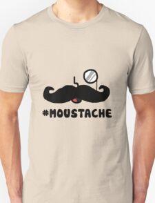 Cartoon #MOUSTACHE T-Shirt