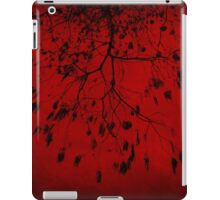 Burning Red Tree iPad Case/Skin