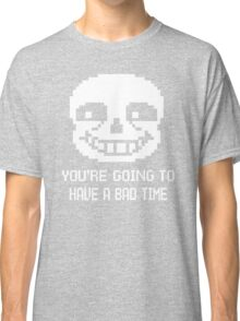 Bad Time Sans Classic T-Shirt