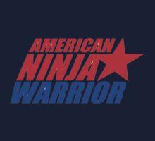 american ninja warrior Kids Tee