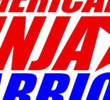 american ninja warrior Sticker