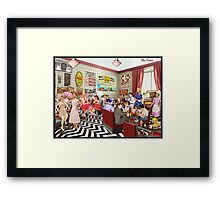 The Diner Framed Print
