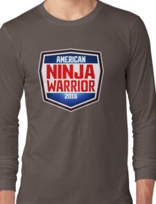 american ninja warrior Long Sleeve T-Shirt