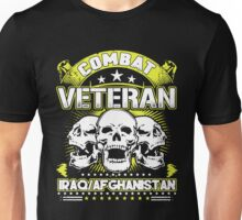 Combat Veteran Iraq and Afghanistan Unisex T-Shirt
