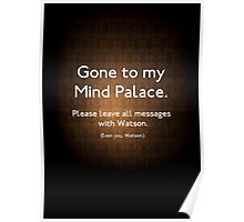 Gone to my Mind Palace Poster