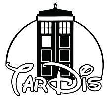 Tardis Dr Who Photographic Print