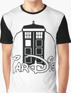 Tardis Dr Who Graphic T-Shirt