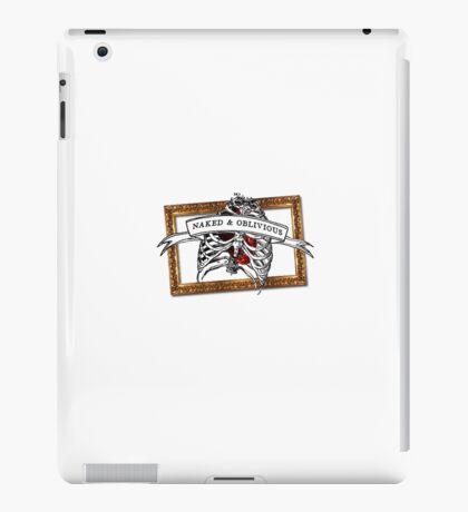 Naked & Oblivious iPad Case/Skin