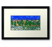 The Lily of the Valley Framed Print