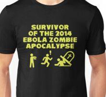 Ebola Zombie Apocalypse Survivors Unisex T-Shirt