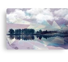 Abstract Mirror Canvas Print