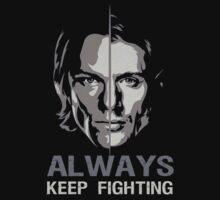 Always keep fighting by tinalu