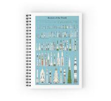 Rockets of the World Spiral Notebook