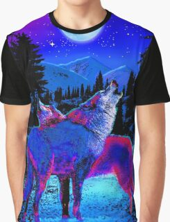 SOUL MATE WOLVES Graphic T-Shirt