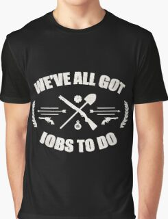 The Walking Dead Funny Graphic T-Shirt