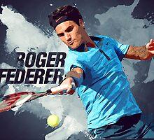 Roger Federer by Taylan Soyturk