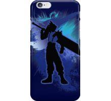 Super Smash Bros. Blue Cloud Silhouette iPhone Case/Skin