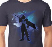 Super Smash Bros. Blue Cloud Silhouette Unisex T-Shirt
