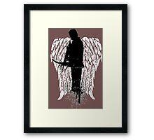 Dixon The Walking Dead - Love Daryl Dixon  Framed Print