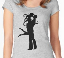 couples - love Women's Fitted Scoop T-Shirt