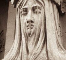 grecian cayratid of sorrow Sticker