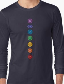 The 7 Chakras Long Sleeve T-Shirt