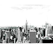 New York graphic Photographic Print